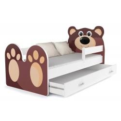 Lit enfant Ours avec tiroir