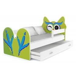 Lit enfant Hibou avec tiroir