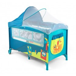 Lit parapluie avec table à langer Mirage Jungle