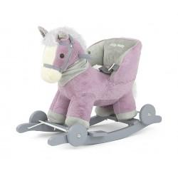 Cheval à Bascule Polly violet